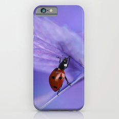 Ladybird on hydrangea iPhone 6s Slim Case