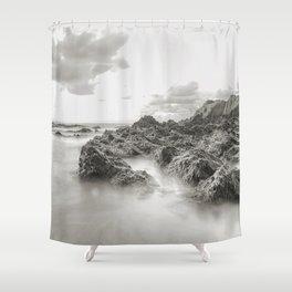 Highlighted Seascape Shower Curtain