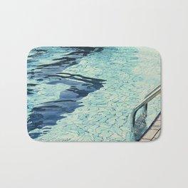 Summertime swimming Bath Mat