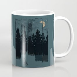 A Fox in the Wild Night... Coffee Mug
