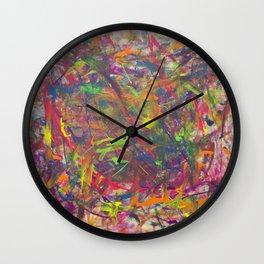 SpilledArt  Wall Clock