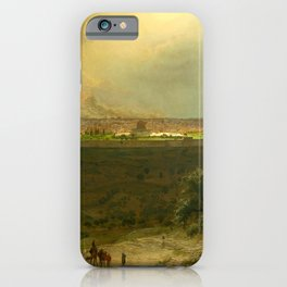 """Frederic Church """"Jerusalem from the Mount of Olives"""" iPhone Case"""