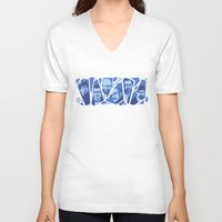 heisenberg V-neck T-shirts featuring Heisenberg by El LoCo
