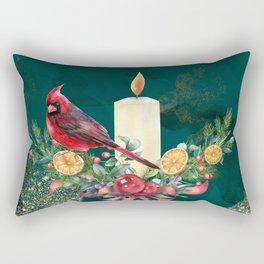 Winter Bird 4 Rectangular Pillow