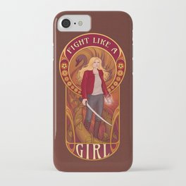 Fight Like A Girl: The Savior iPhone Case