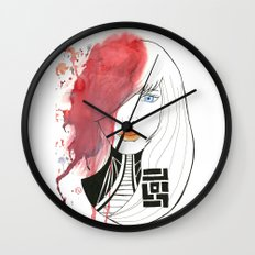 Blast of Colors Wall Clock
