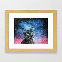 Moon Eyed Framed Art Print