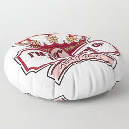 Anna of Cleves Quote  Floor Pillow