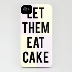 let them eat cake Slim Case iPhone (4, 4s)