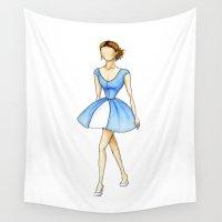 cinderella Wall Tapestries featuring Cinderella by Jack Hale