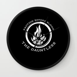 Divergent - The Dauntless Wall Clock