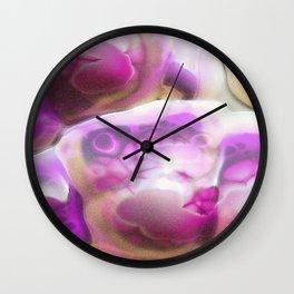 Liberated Bubbles - Abstract Art Wall Clock