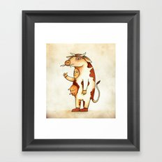 Vaca Framed Art Print