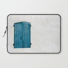 Old blue store Laptop Sleeve