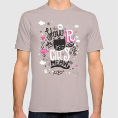 CAT'S MEOW Cinder Mens Fitted Tee SMALL