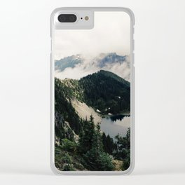 Eunice Lake Clear iPhone Case