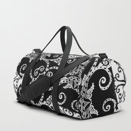 Candy Cane Tangle - Reversed Duffle Bag