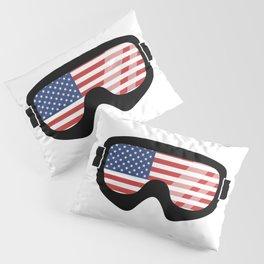 USA Goggles | Goggle Designs | DopeyArt Pillow Sham