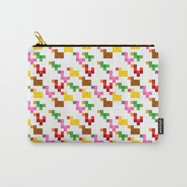 Pixel by pixel – The Birdy Bunch I Carry-All Pouch