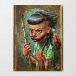 Little Beast Canvas Print