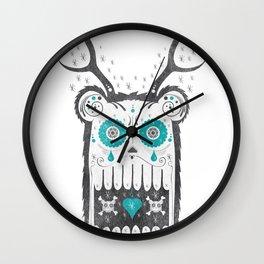 SALVAJEANIMAL MEX cuernitos Wall Clock
