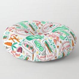 Vietnamese Spring Rolls Floor Pillow