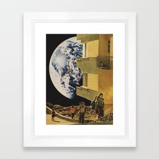 MIGRATION (v.2) Framed Art Print