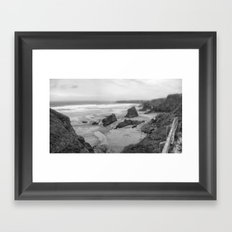 Love This Beach Framed Art Print