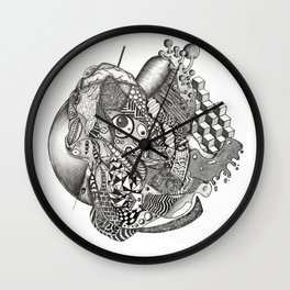 Contour Mass 3 Wall Clock