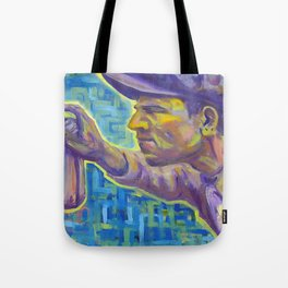 Blue Serenity 2nd half Tote Bag