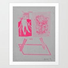 thehere7 Art Print
