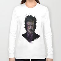 lynch Long Sleeve T-shirts featuring David Lynch by Philipp Banken