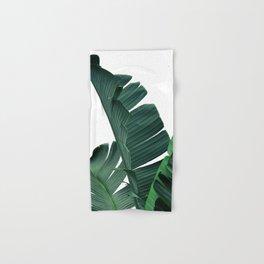 Tropical Leaf Print, Botanical Wall Art Print, Banana Leaf Print ,Tropical Decor Hand & Bath Towel
