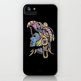 Huichol Warrior iPhone Case