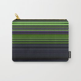 Apple Grape Rag Weave by Chris Sparks Carry-All Pouch