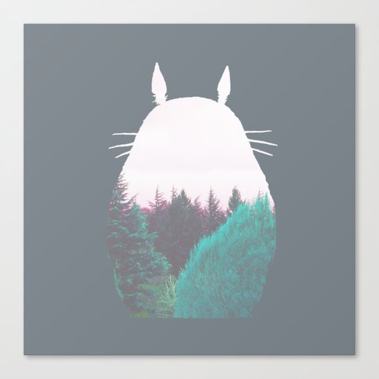 Troll of the Dreamland Forest Canvas Print