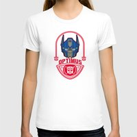 optimus prime T-shirts featuring Optimus by Buby87