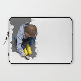 To Live with No Thought for the Future Laptop Sleeve
