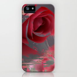 The Pink Flowers of That Majestic Dream! iPhone Case