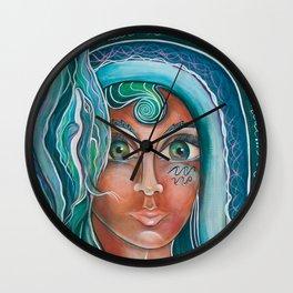 LADY OF LOURDES Wall Clock
