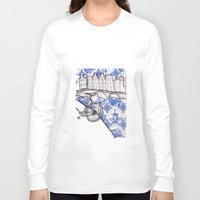 amsterdam Long Sleeve T-shirts featuring Amsterdam by crocomila