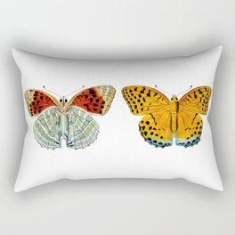 Butterflies (Argynnis Childreni) Rectangular Pillow