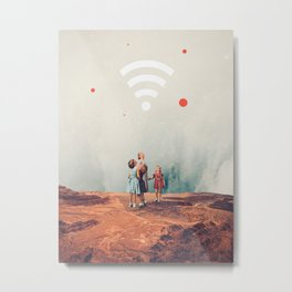 Wirelessly connected to Eternity Metal Print