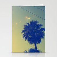 palms Stationery Cards featuring Palms by Devin Stout