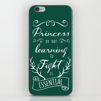 brave iPhone & iPod Skins featuring Brave by Nikita Gill