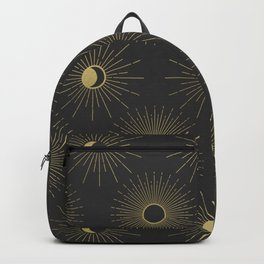 Moon and Sun Theme Backpack