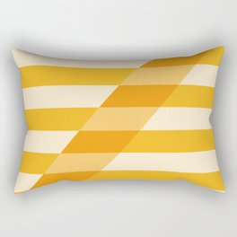 Striped Shadow 2 Rectangular Pillow