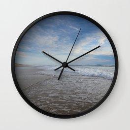 Atlantic Ocean at Sunset Wall Clock