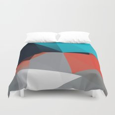 Peaceful eyes drawn away from me 02. Duvet Cover