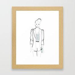 Naiomi Framed Art Print